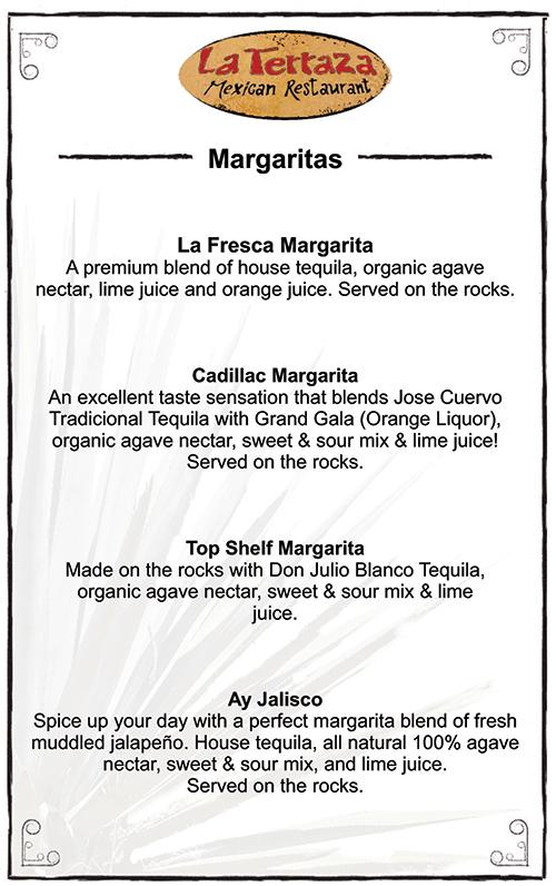 La Terraza Old Sacramento Margaritas
